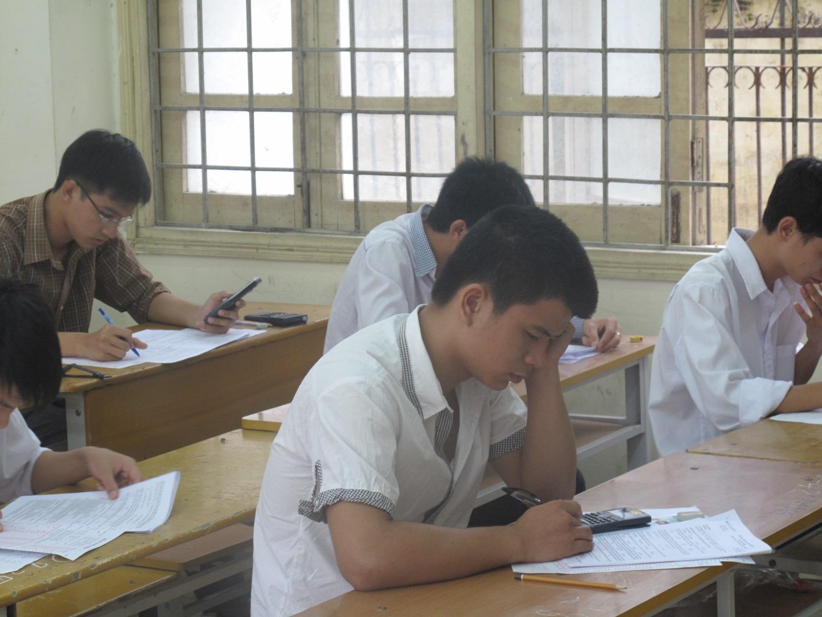 Thi THPT quốc gia 2015, thí sinh dự thi trong 4 ngày