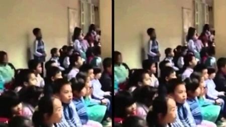 """Hàng trăm học sinh   tiểu học thuộc làu ca khúc """"hit"""" của Sơn Tùng M-TP"""