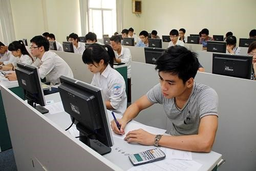 Bài thi đánh giá năng lực trên máy tính