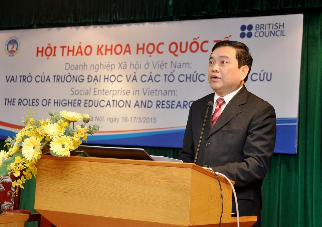 GS.TS Trần Thọ Đạt, Hiệu trưởng trường ĐH Kinh tế quốc dân: