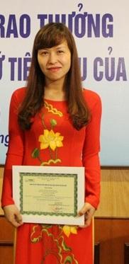 Nữ phó giáo sư Đỗ Thị Hương Giang