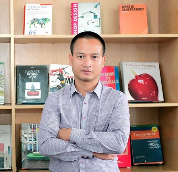 Ông Đinh Trí Dũng – Hiệu trưởng Trường Đào tạo Mỹ thuật Đa phương tiện Arena Multimedia
