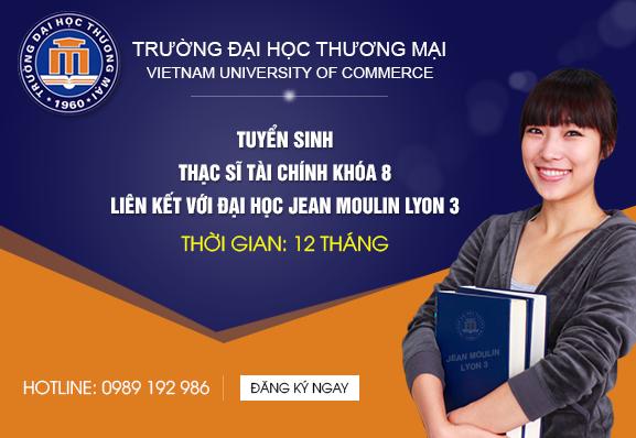 Trường ĐH Thương mại tuyển sinh thạc sĩ khóa 8 chuyên ngành Tài chính