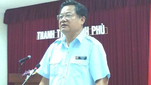 Vụ trưởng Vụ 3 Ngô Văn Cao.