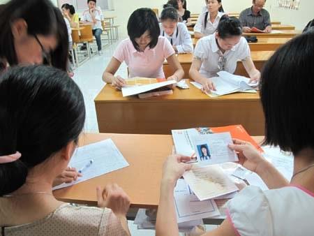 Ảnh thẻ dự thi của thí sinh phải chụp trong vòng 6 tháng gần nhất