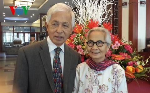 Giáo sư Trần Thanh Vân và phu nhân Kim Ngọc