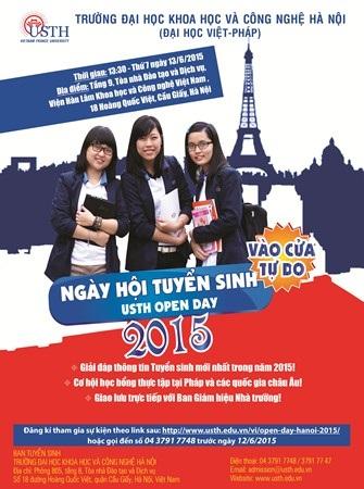ĐH Việt Pháp tổ chức Ngày hội Tuyển sinh