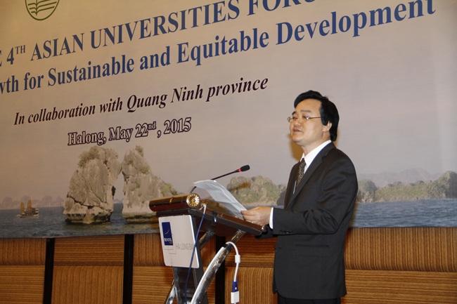 Giám đốc Đại học Quốc gia Hà Nội Phùng Xuân Nhạ