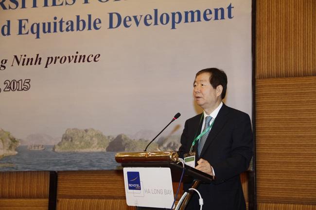 Giám đốc Đại học Quốc gia Seoul, Hàn Quốc, ông Nak-in SUNG