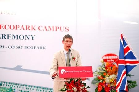 Lễ động thể trường ĐH Anh Quốc Việt Nam tại khu đô thị Ecopark