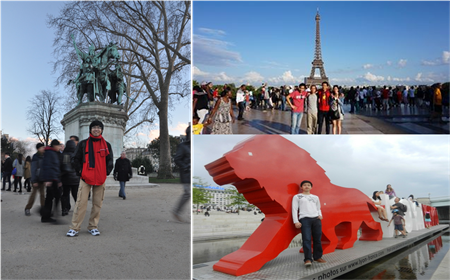 Sinh viên ĐHKHCNHN đi thực tập tại nhiều quốc gia trên thế giới