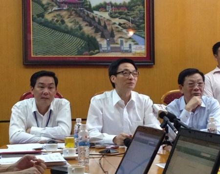 Phó Thủ tướng làm việc với Ban chỉ đạo thi TP.Hà Nội