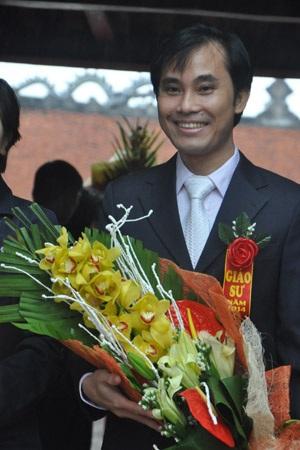 Tân GS Phan Thanh Sơn Nam (Ảnh: Văn Chung)