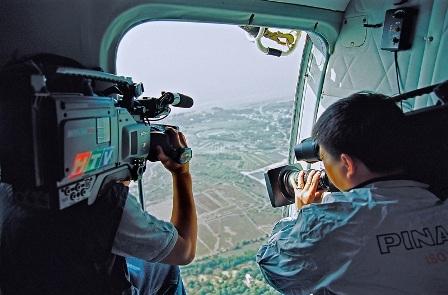 Trên không - Lê Văn Minh, Ban chuyên đề, Đài TH TPHCM