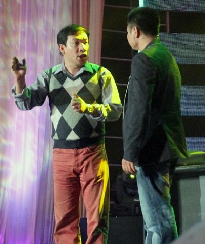 Ca sỹ Phương Thanh - Giải nhì dòng nhạc dân gian Sao Mai điểm hẹn 2011 góp mặt tại liên hoan