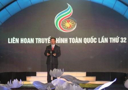Các đại biểu và hơn 1000 người làm truyền hình cả nước dự đêm khai mạc LHTTTQ lần thứ 32
