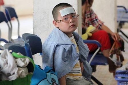 Đa số trẻ nhập viện do sốt, tiêu chảy...