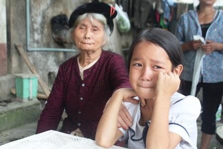 Nỗi đau của người thân em Trương Thị Dung không biết đến bao giờ mới nguôi ngoai