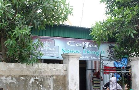 Quán cà phê của đối tượng Nguyễn Thị Yến, tụ điểm các đối tượng sử dụng ma túy đá