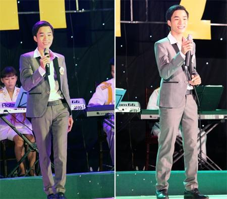 Thí sinh Đậu Thành Tài (SBD 110) thể hiện hai bài hát: