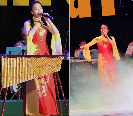 Thí sinh mang SBD 94 - Trần Thị Huyền Trang thể hiện hai ca khúc: