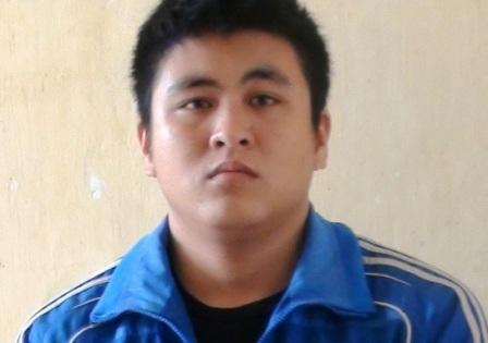 Bị can Trinh Phúc Đạt tại trại tạm giam Nghi Kim (Ảnh: Vũ Đồng)