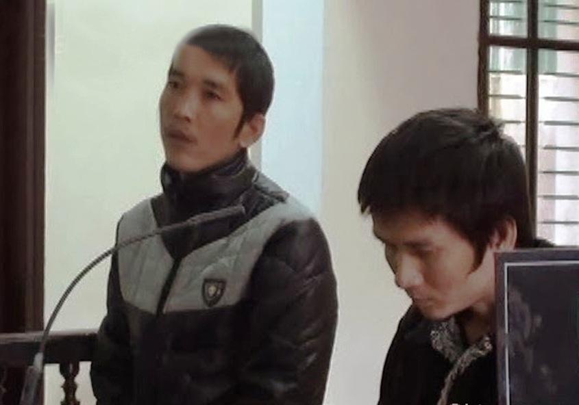 Hai anh em Cường Tuấn lĩnh 32 năm tù về tội mua bán trái phép chất ma túy (Ảnh: T.Đ)