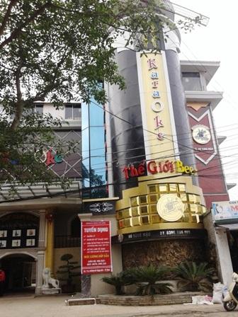 Quán karaoke Quán Lau - nơi nhóm đối tượng sử dụng ma túy đá, thuốc lắc bị bắt giữ