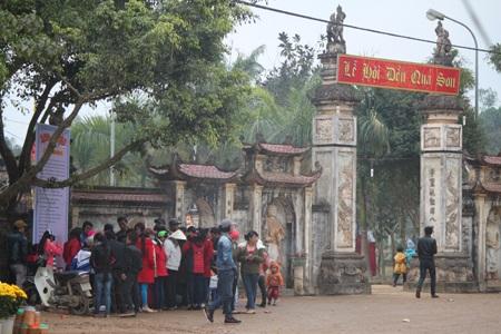 Đền Quả Sơn được xếp thứ hai trong 4 ngôi đền có tiếng linh thiêng nhất xứ Nghệ