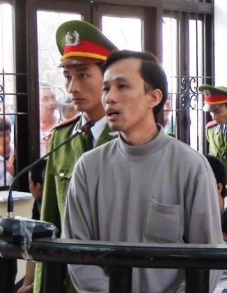 Bị cáo Nguyễn Đức Tiềm tại phiên tòa xét xử phúc thẩm.