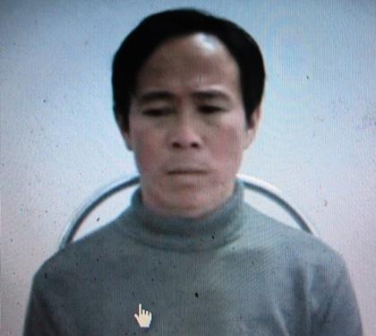 Đối tượng Ngô Xuân Phương bị bắt giữ.