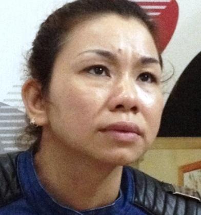 Trùm ma túy Lưu Thị Xiêm bị bắt giữ.
