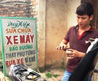 Nguyễn Văn Hiệp từ chối trả lời về sự việc.