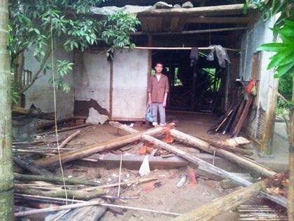 3 người chết và mất tích trong khi thiệt hại về tài sản chưa được thống kê.