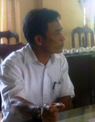 Lãnh đạo Phòng PC 68 Công an tỉnh Nam Định cảm ơn thông tin báo