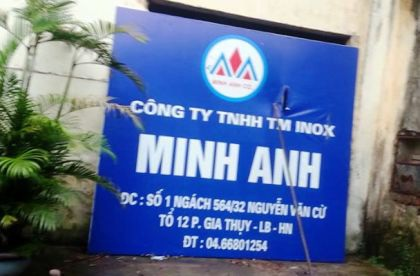 Vịđại gia rởm thành lập công ty Minh Anhđể tiếp tụcđi lừađảo.