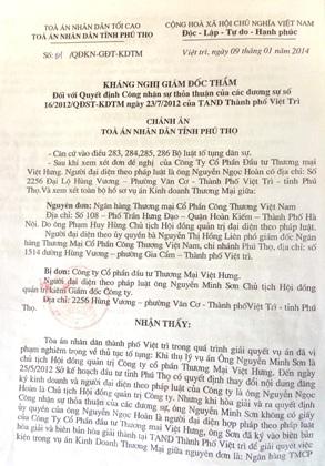 Luật sư Trương Anh Tú: Chấp hành viên Chi cục thi hành án đã thách đố pháp luật