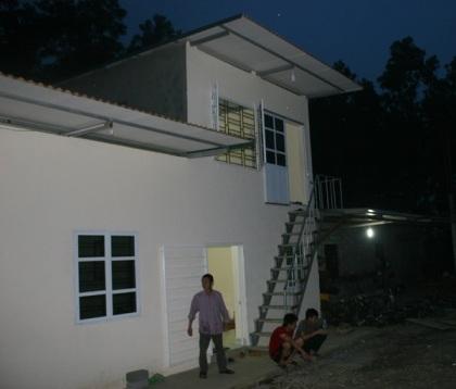 Nhà xưởng của Cty ADF Đồng Tâm.