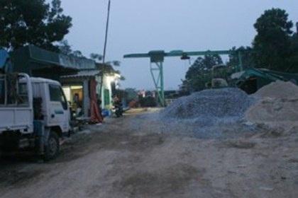 Xưởng cọc bê tông Đông Á đã dựng nhà xưởng kiên cố hơn 3 tỷ đồng.