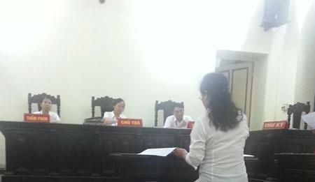 Phiên xét xử ngày 26/8/2013 tại Tòa án TP Hà Nội.