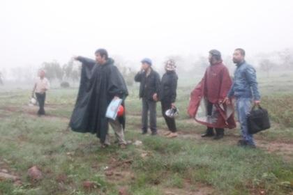 Khu đất của 37 hộ dân trước kia giờ đã đươc giải tỏa phục vụ dự án của TP Hà Nội (Ảnh: Anh Thế)