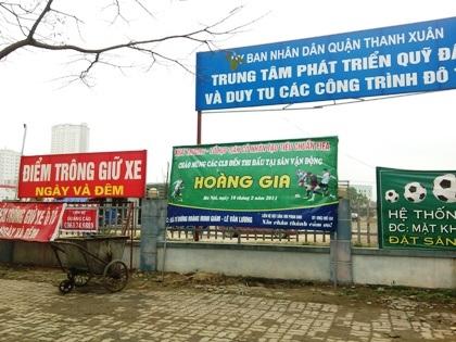 Quận Thanh Xuân lập lờ văn bản chỉ đạo của TP Hà Nội?