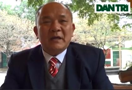 Ông Đào Khắc Hiệt - Nguyên chánh tòa Hình sự TAND tỉnh Phú Thọ: