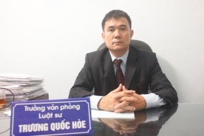 Luật sư Trương Quốc Hòe:Viện kiểm sát tỉnh Phú Thọ thực thi pháp luật theo...cảm tính.