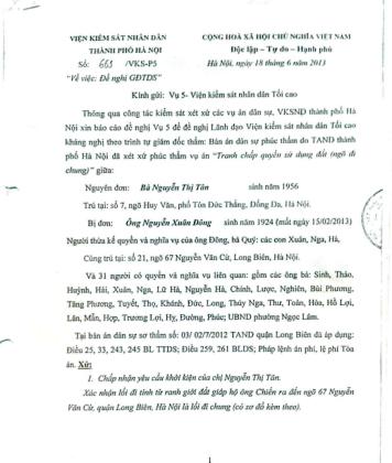 Đơn kêu cứu bà Nguyễn Thu Nga gửi báo Dân trí.