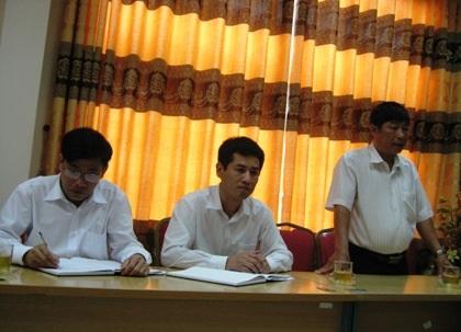 Sổ cho vay vốn hộ nghèo tại xã Vĩnh Thịnh của NHCSXH chi nhánh Vĩnh Phúc.