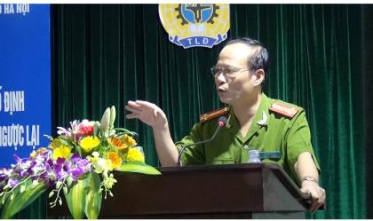 Đại tá Nguyễn Hữu Sự - Phó Cục trưởng Cục c