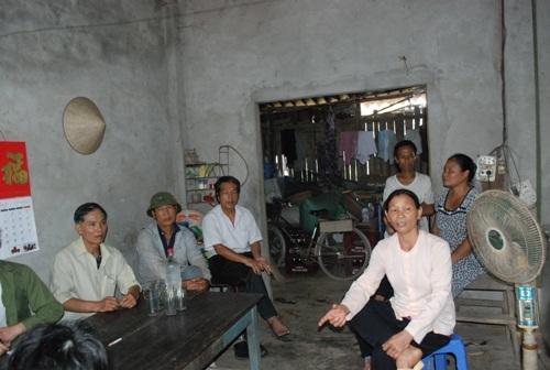 Nhiều người dân tại xã Vĩnh Thịnh bức xúc vì việc cho vay vốn hộ nghèo không đúng đối tượng.