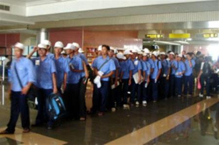 Lại nhức nhối nạn lao động Việt Nam bỏ trốn tại Đài Loan