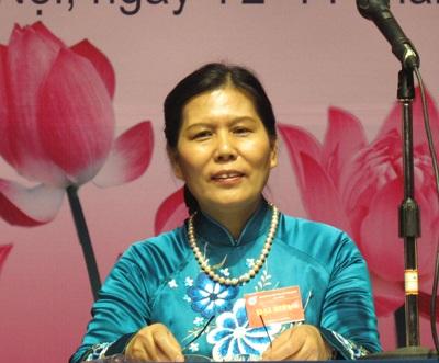 Bà Nguyễn Thị Thanh Hòa tái đắc cử Chủ tịch Hội LHPN Việt Nam
